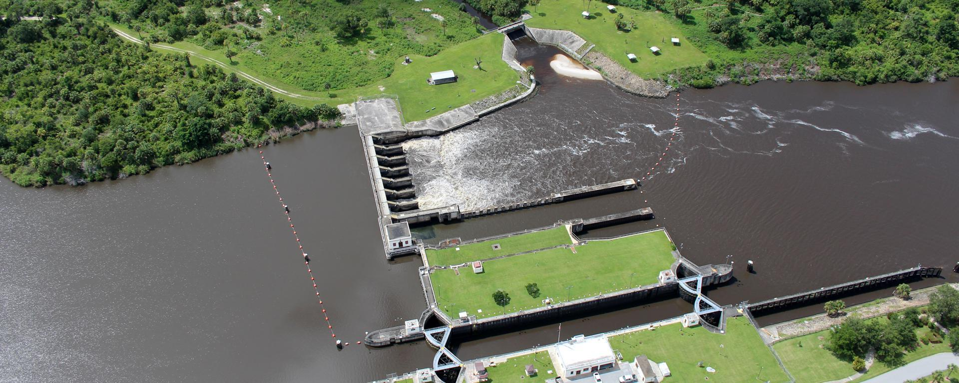 Aerial over Port Mayaca