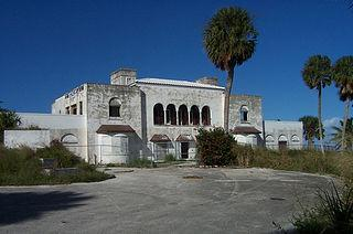 State of the mansion when purchased by the County 1997