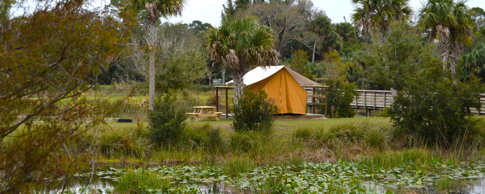 Adventure platform tent