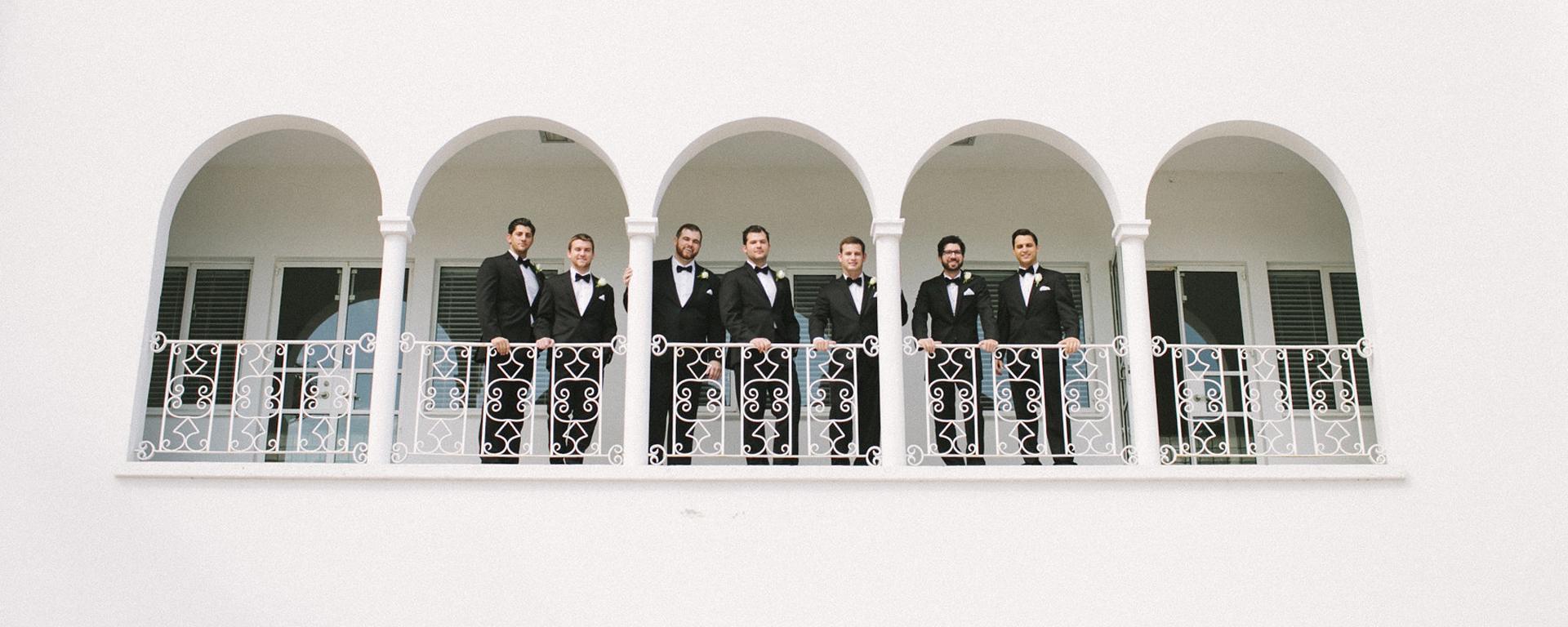 The Mansion at Tuckahoe groomsmen