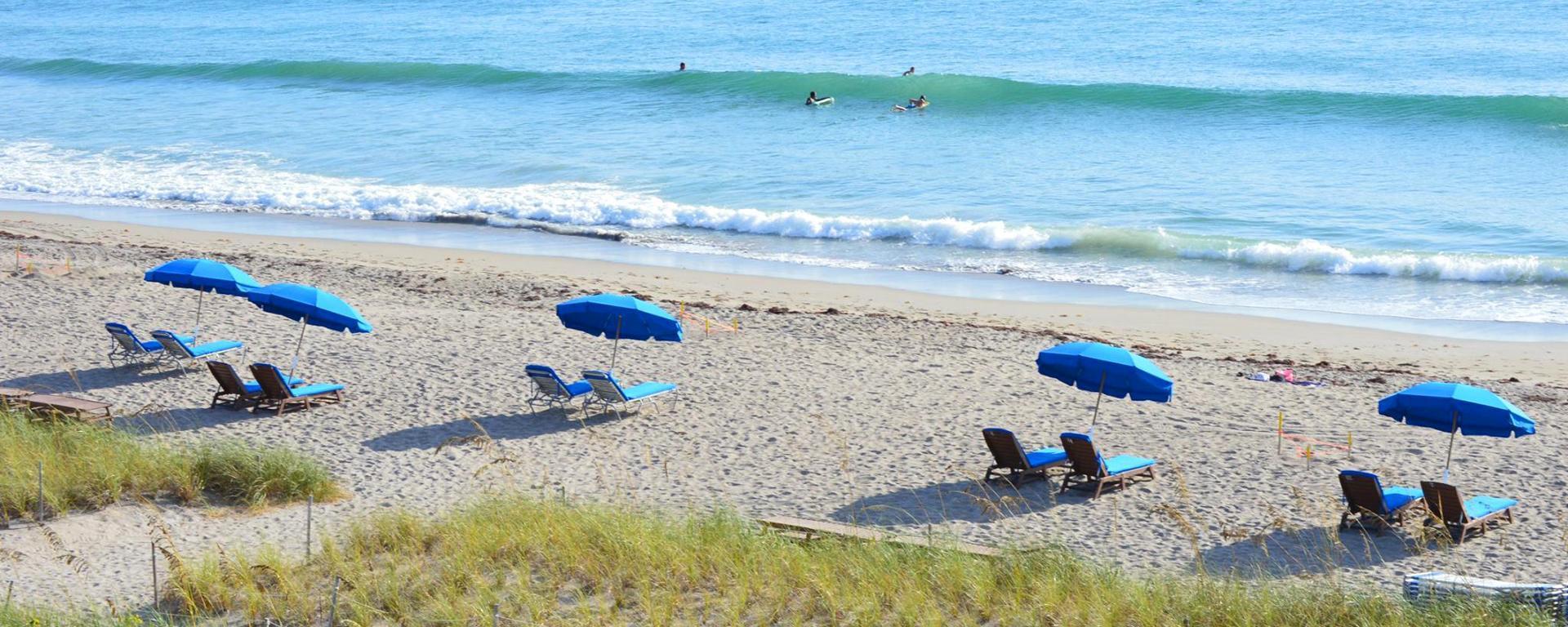 Beach Chairs on Jensen Beach