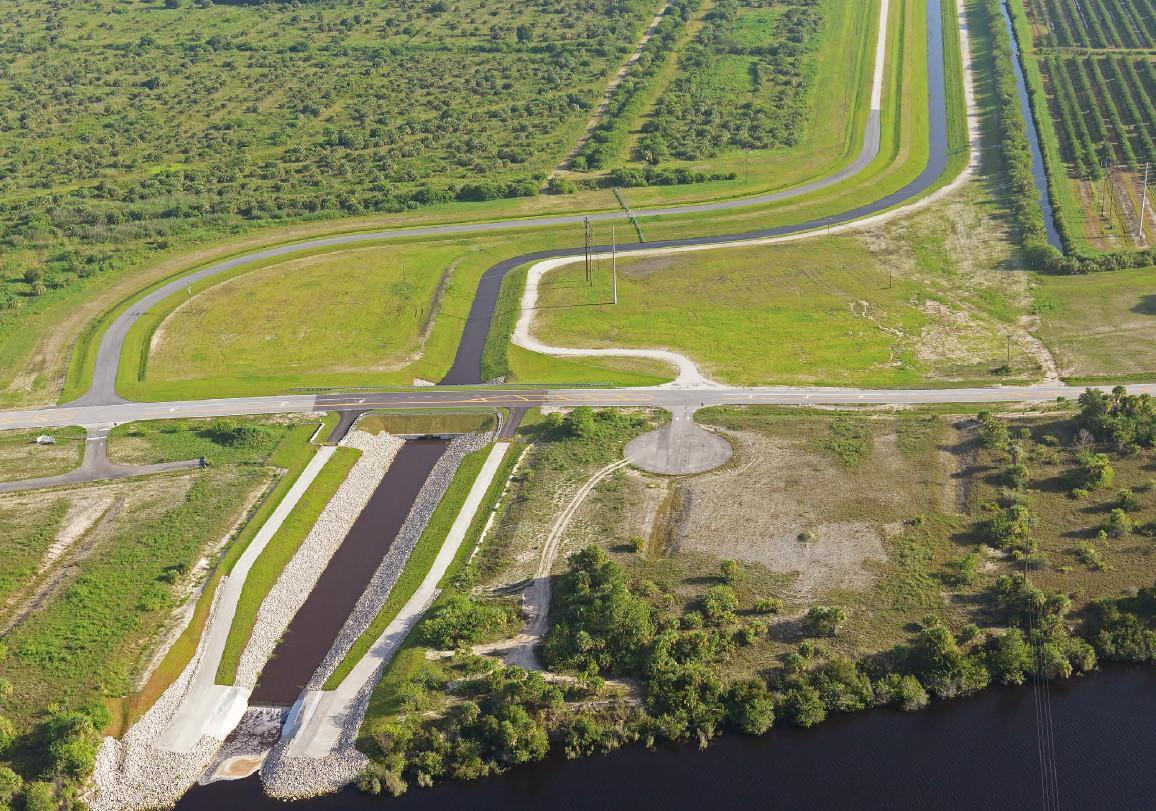 C-44 phase 1 intake canal in Martin County
