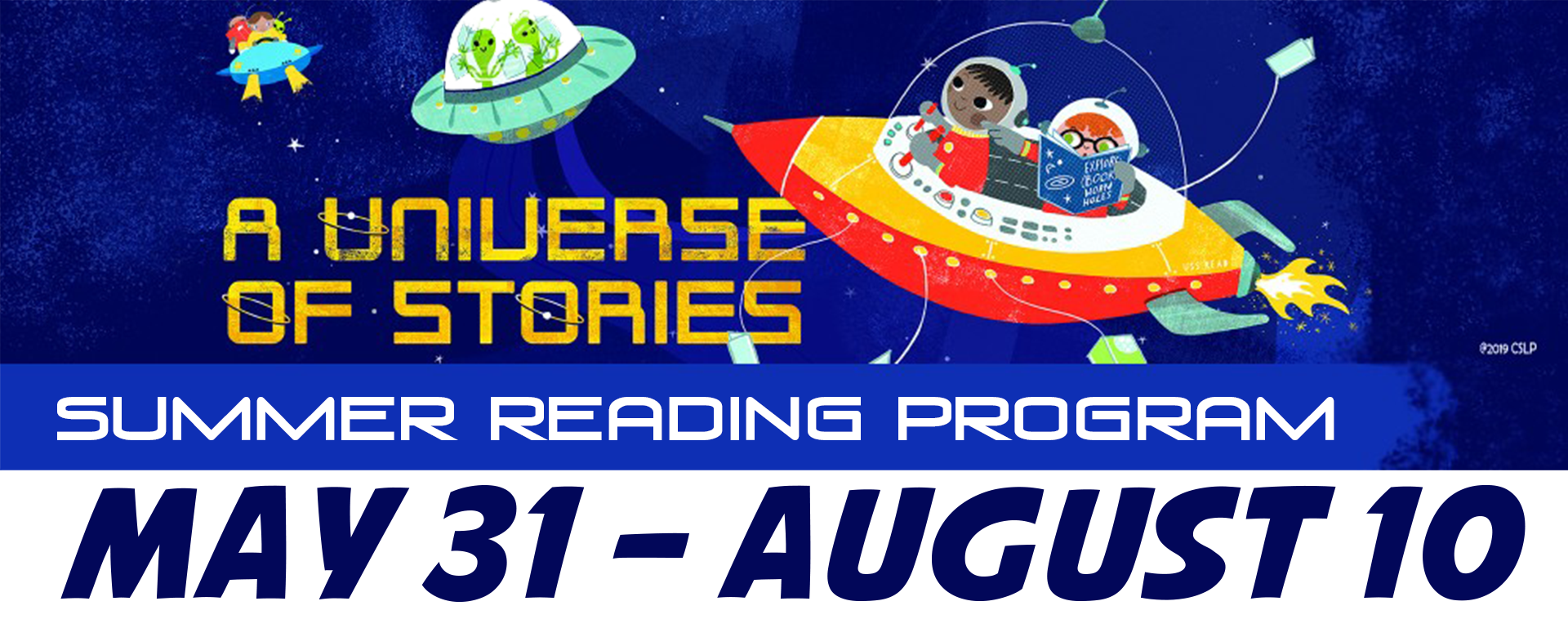 A Universe of Stories Banner