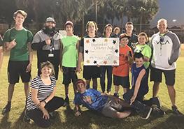 The 2018 Dodgeball Tournament winners.