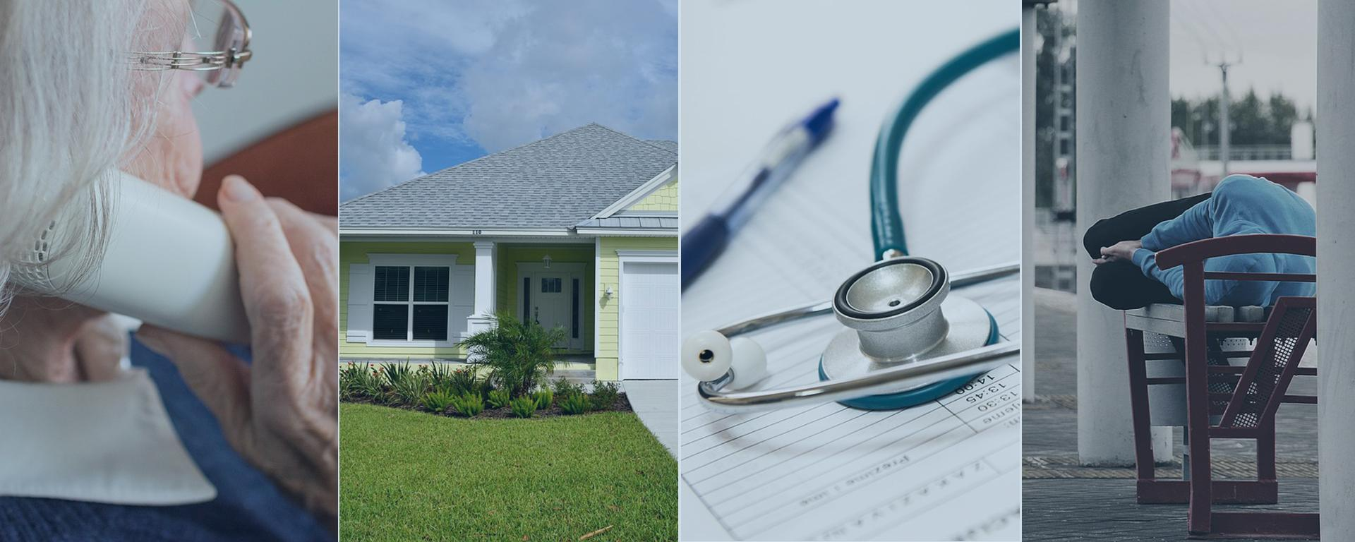 health, medical, housing, and homeless assistance