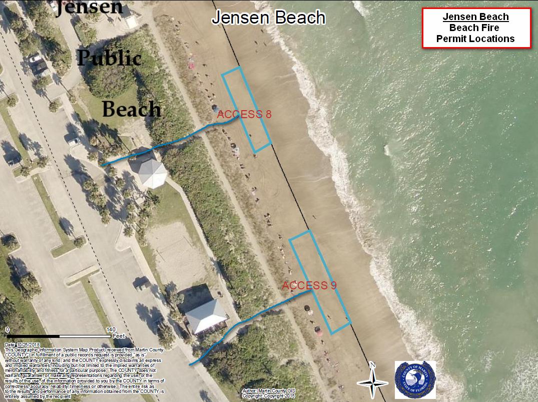 Jensen Beach Fire Pit Locations