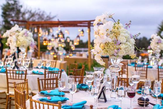 A Tablescape at the Mansion at Tuckhoe