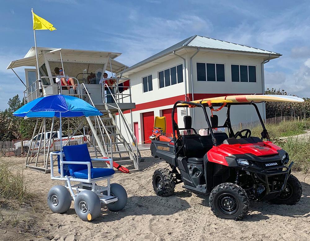 Rolling Beach Wheelchair