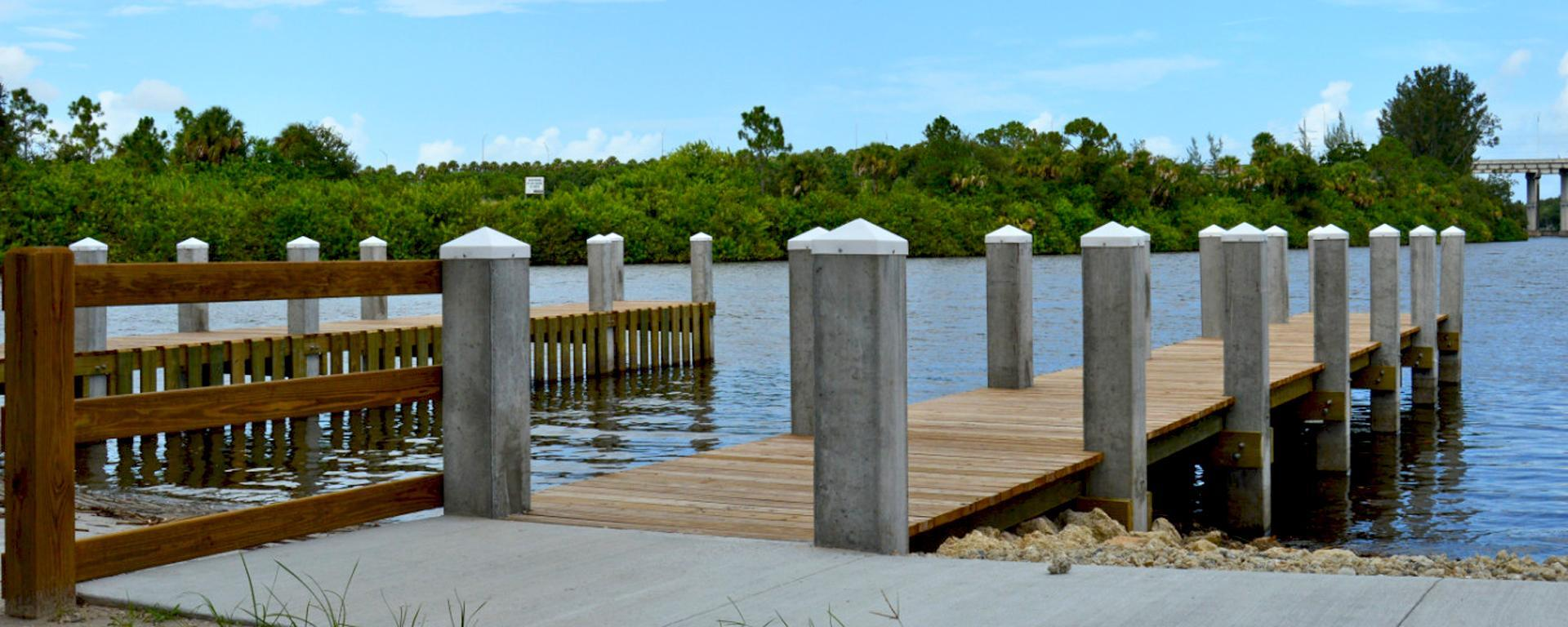 A Boat Ramp at Phipps Park Campground