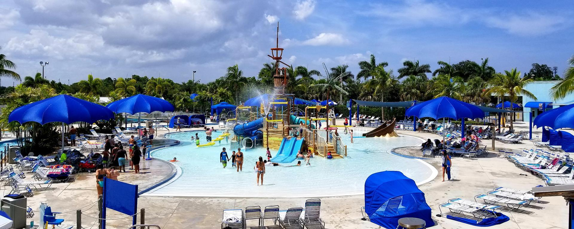Playground at Sailfish Splash Waterpark