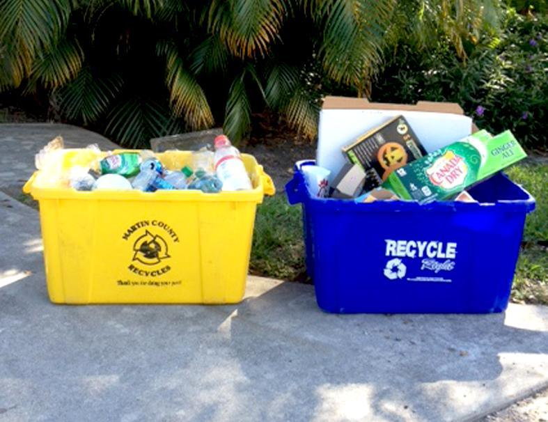 An image of recycle bins