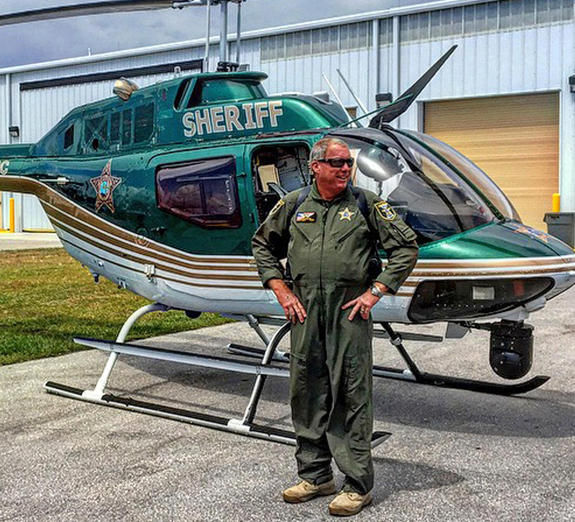 Martin County Sheriff's Office helicopter