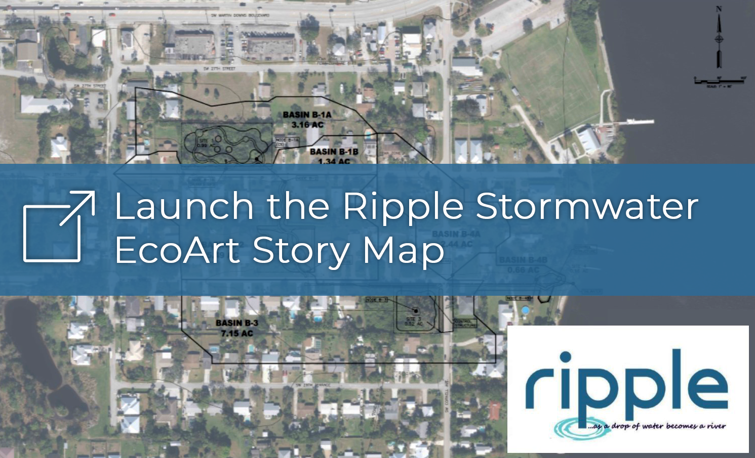 Launch the Ripple Stormwater EcoArt Story Map