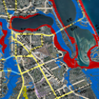 Flood map icon