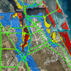 storm surge map icon