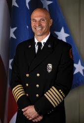 Martin County Fire Rescue Chief Chad Cianciulli