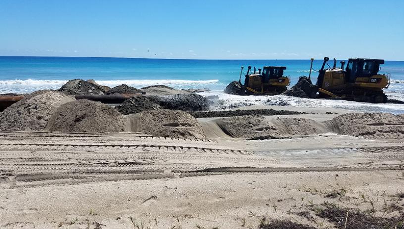 Beach Reconstruction Project