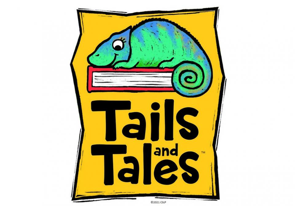 Tails and Tales theme for 2021 summer reading