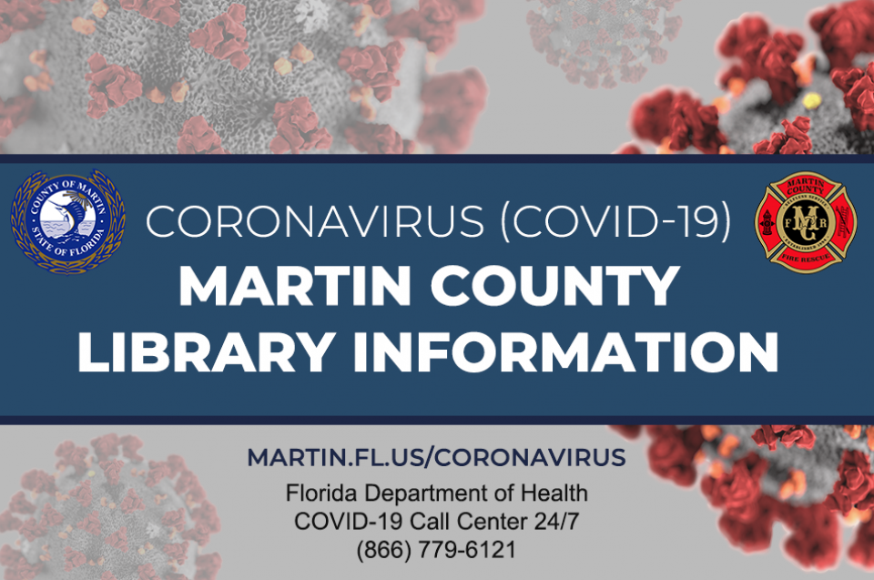 Martin County Library information related to Covid-19