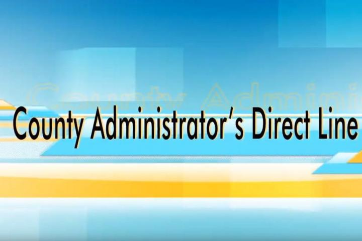 County Administrator's Direct Line