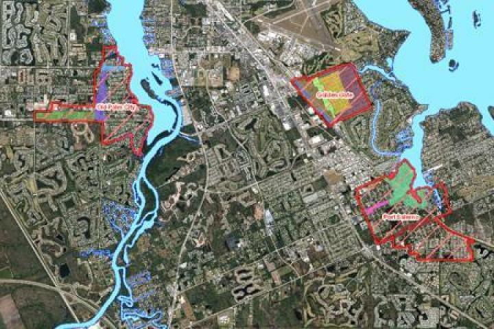 Map of CRA neighborhoods