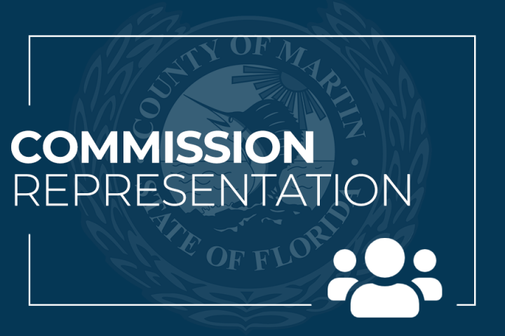 Commission Representation and Martin County Seal