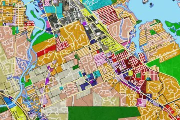 Future land use map