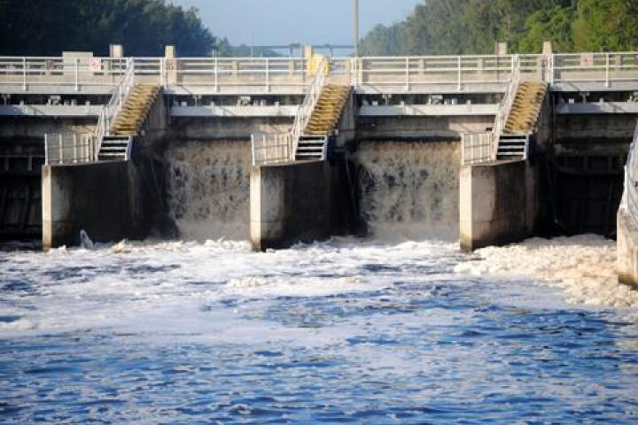 Locks at Lake Okeechobee