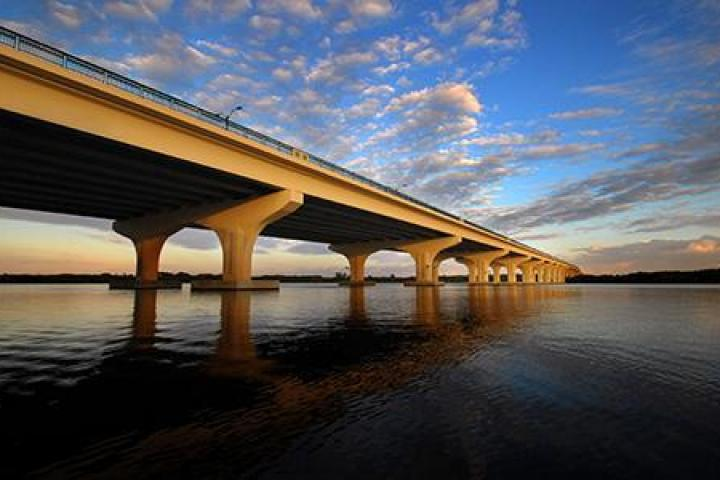 Palm City Bridge over the St. Lucie River