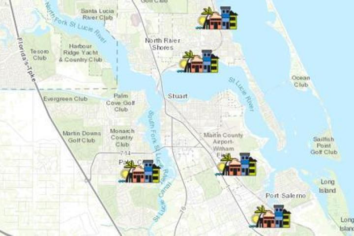 CRA project locations