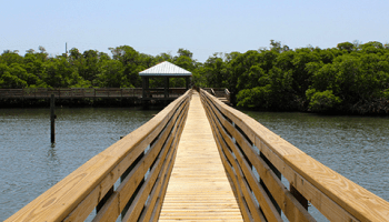 Boardwalk at Clifton S. Perry Beach
