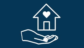 Homeless assistance icon