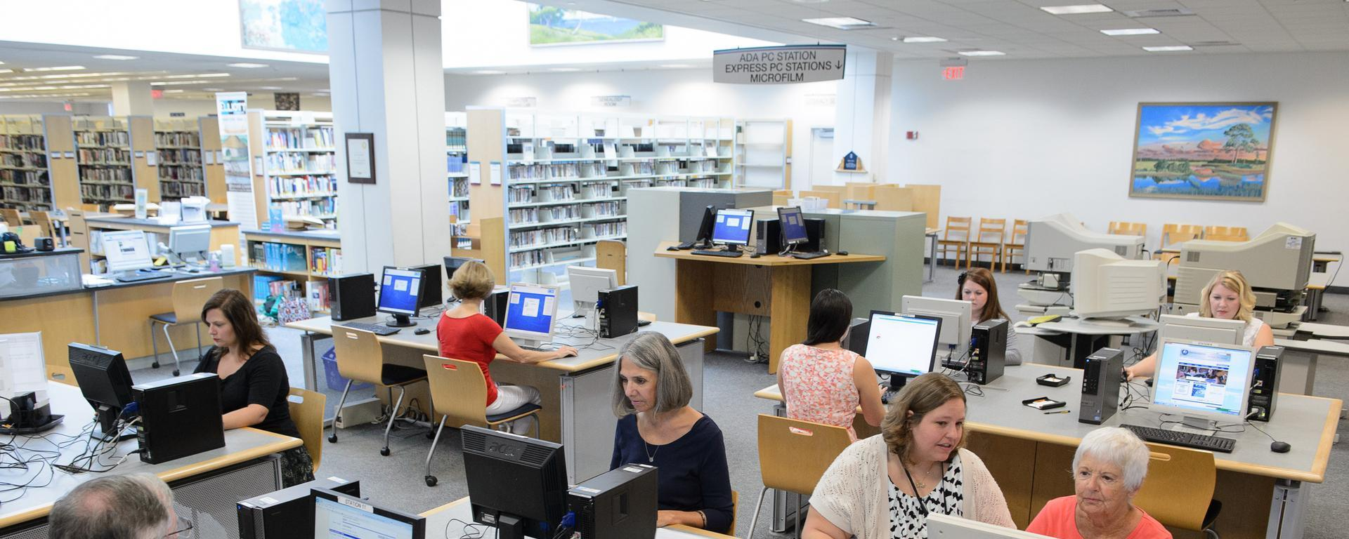 blake library computer area