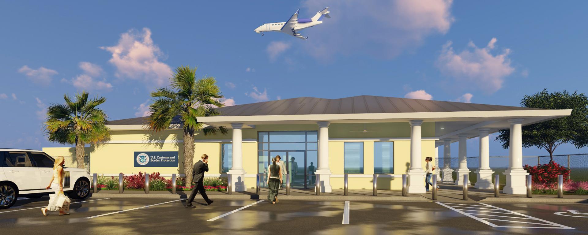 Martin County Customs Facility