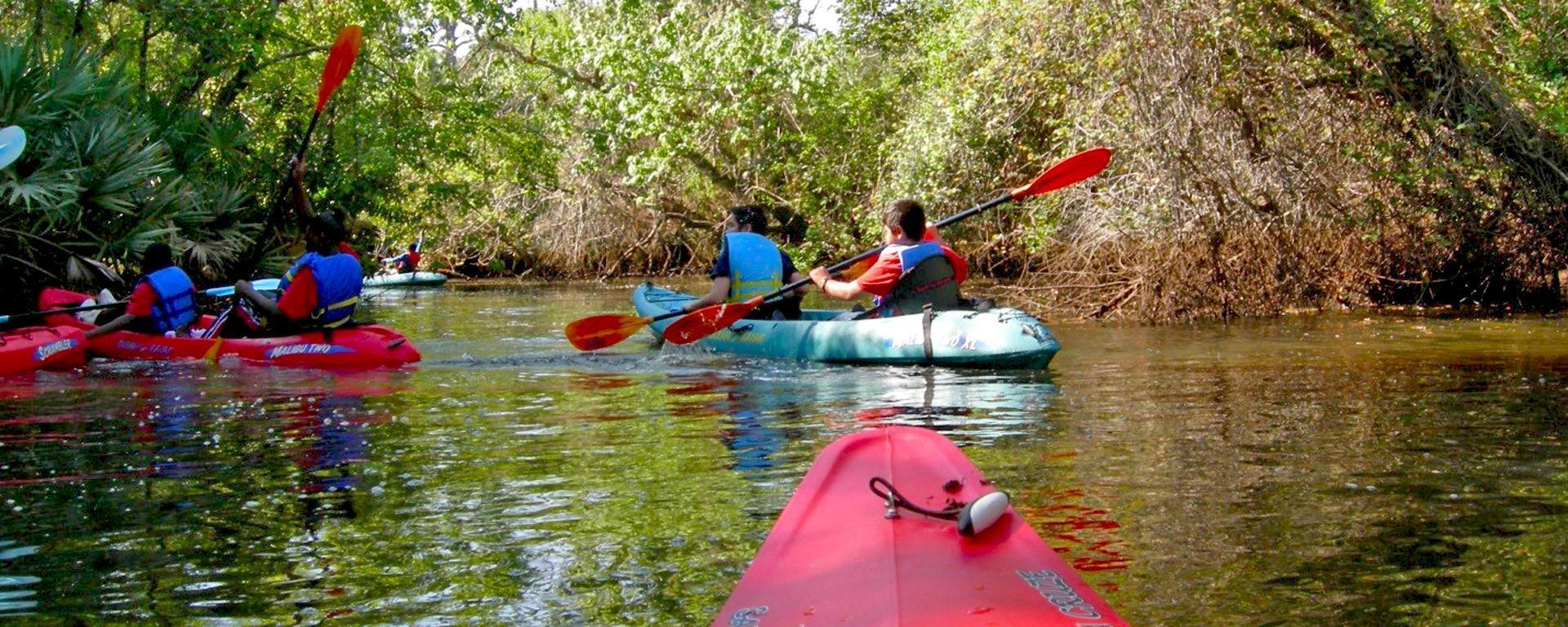 People in a Kayak