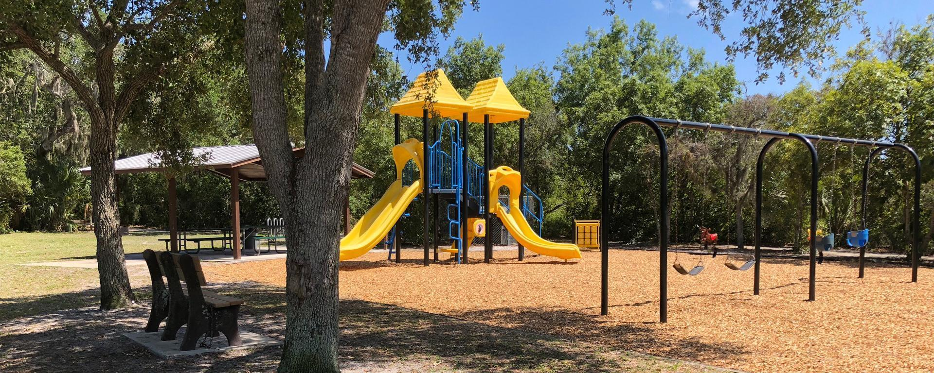 Playground at Maggy's Hammock Park