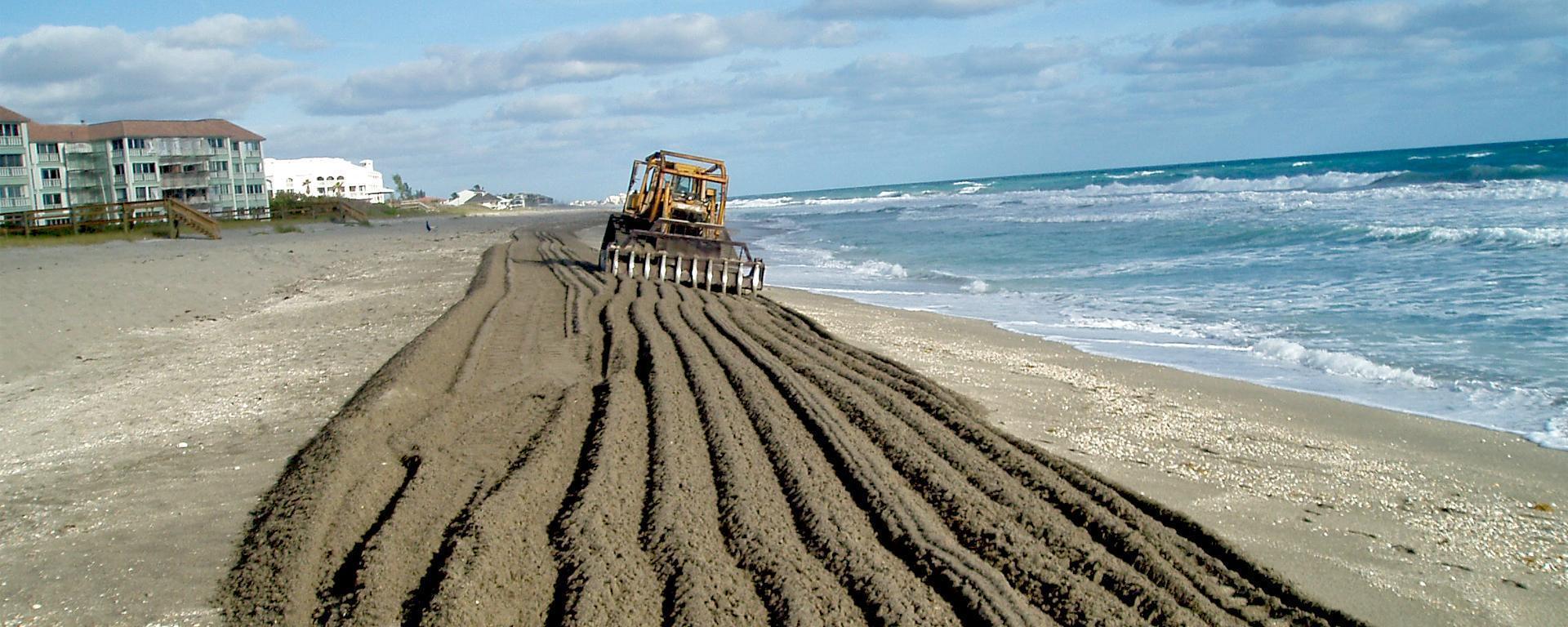 Beach Tilling