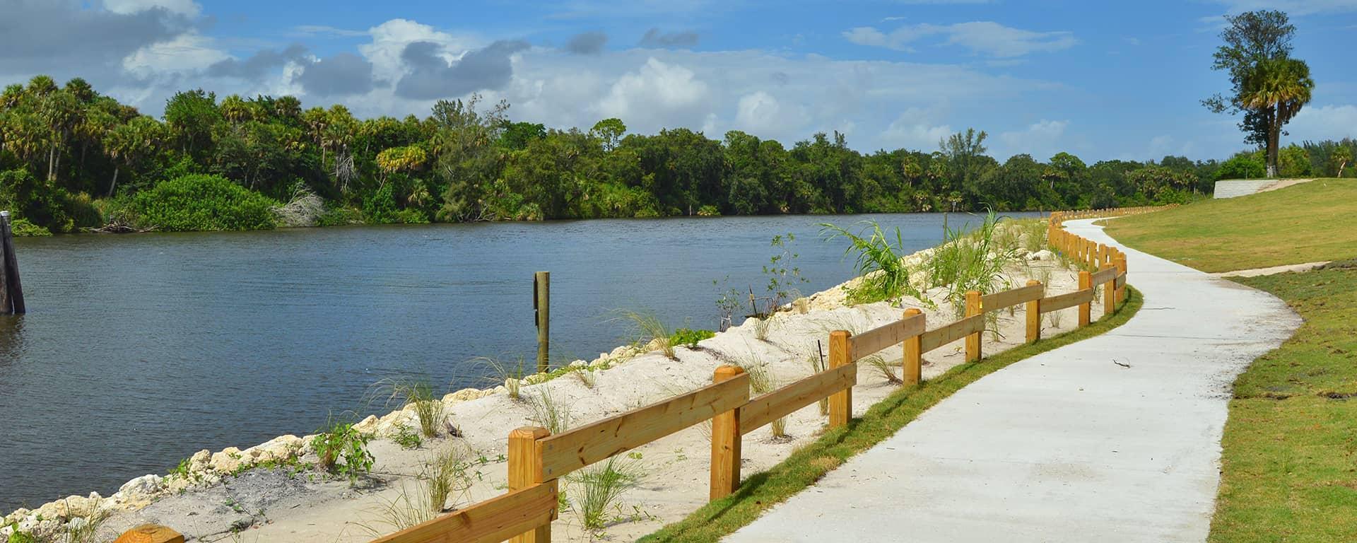 Shoreline at Phipps Park
