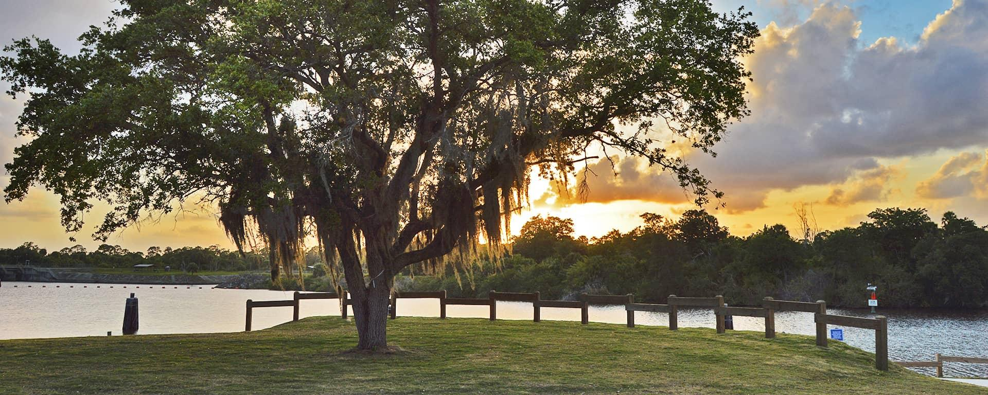 Sunset at Phipps Park