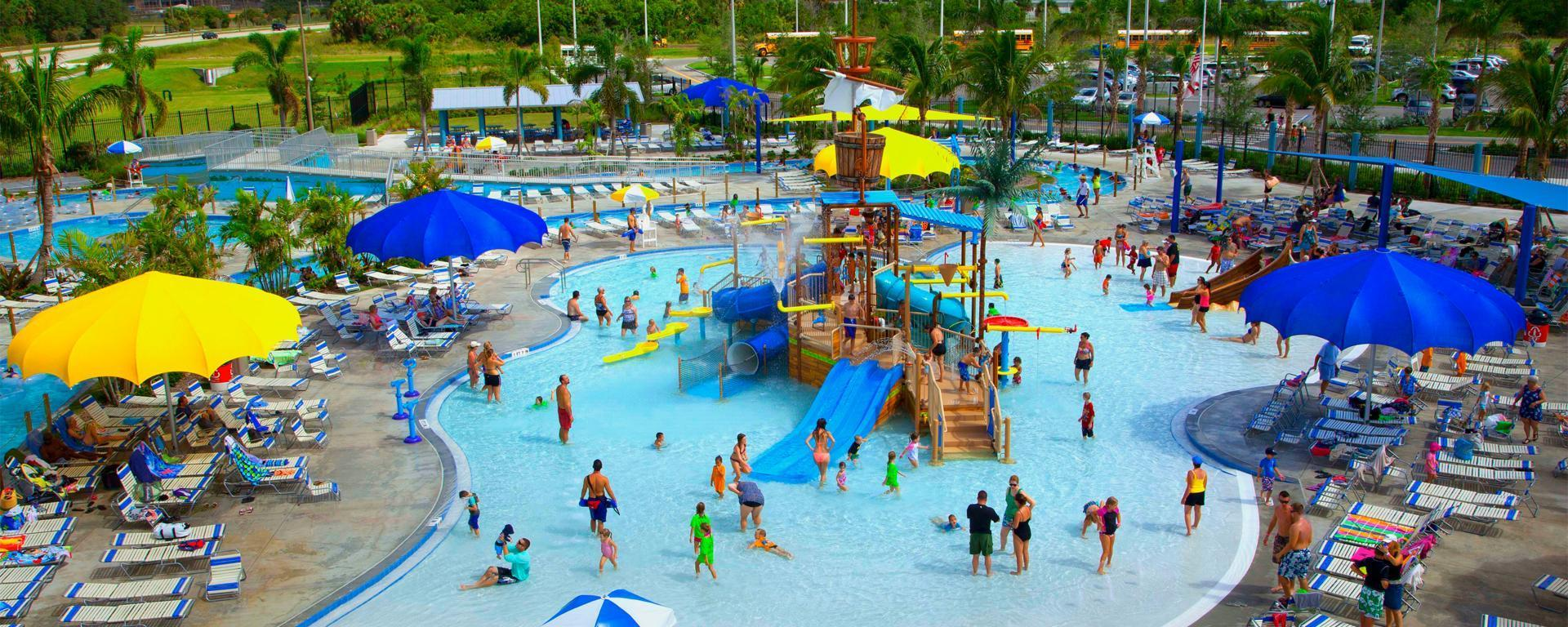 Overview of Sailfish Splash Waterpark