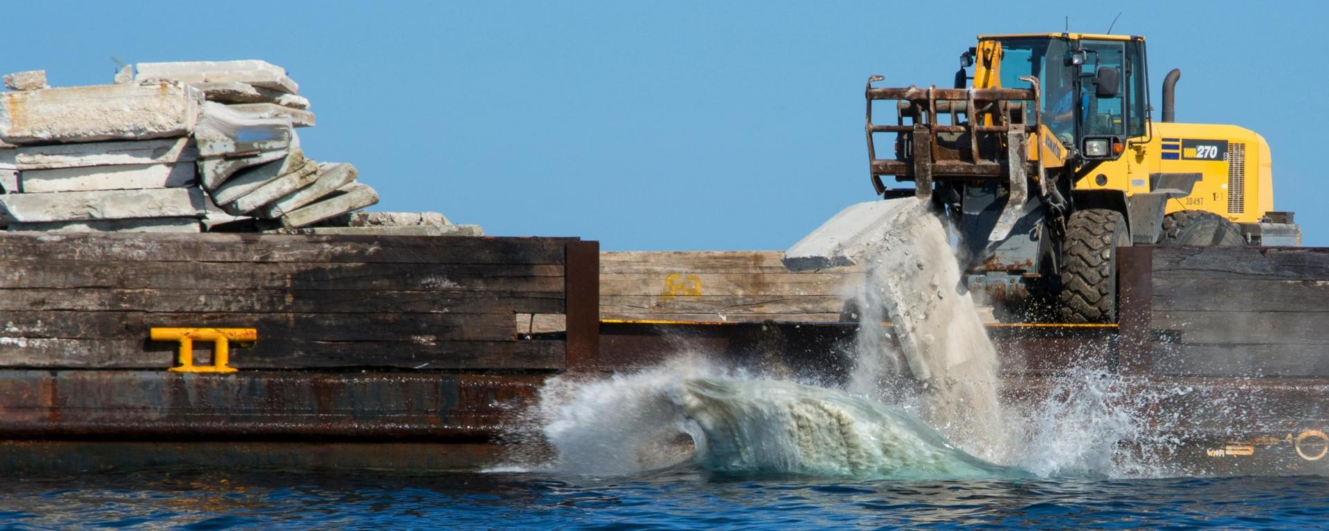 Artificial Reef Deployment
