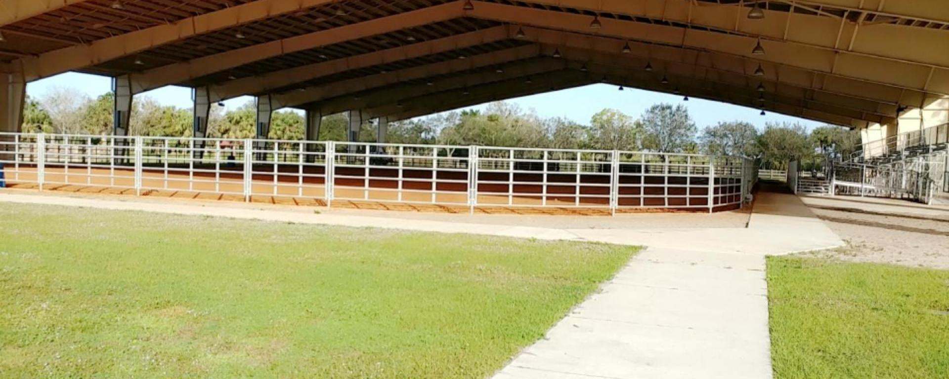 Timer Powers Equestrian Arena