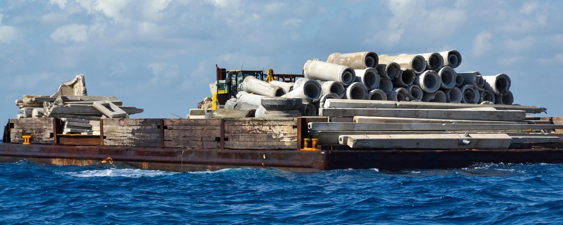 Artificial Reef Materials