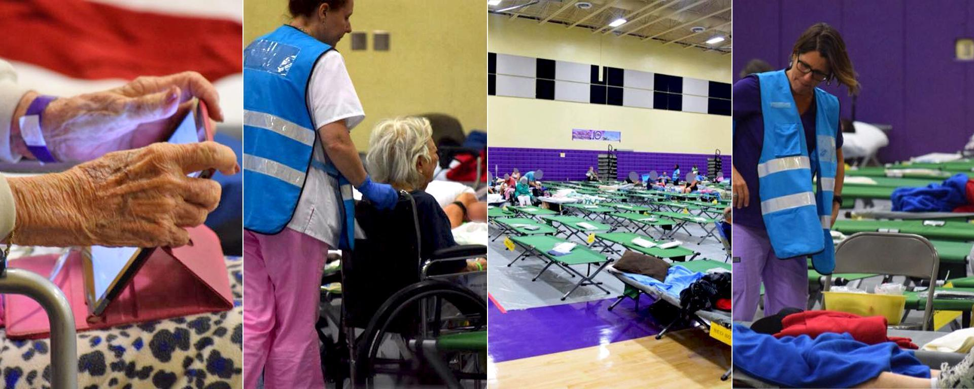 A photo of special needs evacuation assistance