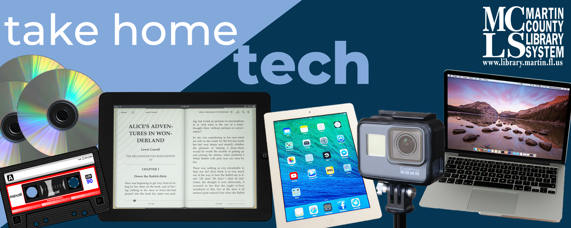 Tach home tech and a variety of tech devices