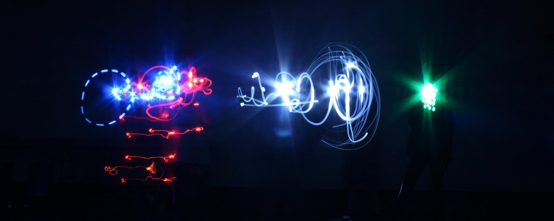 light art created by teens in Hobe Sound