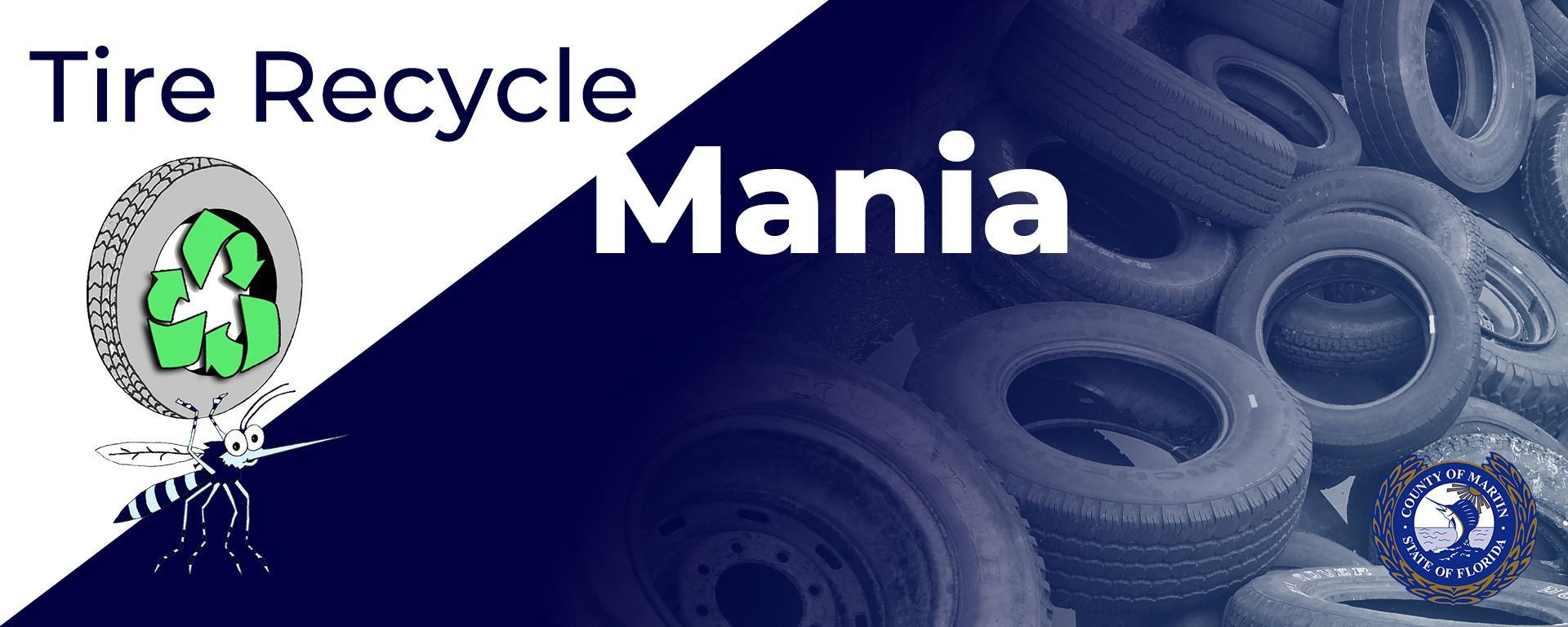 Tire Recycle Mania logo