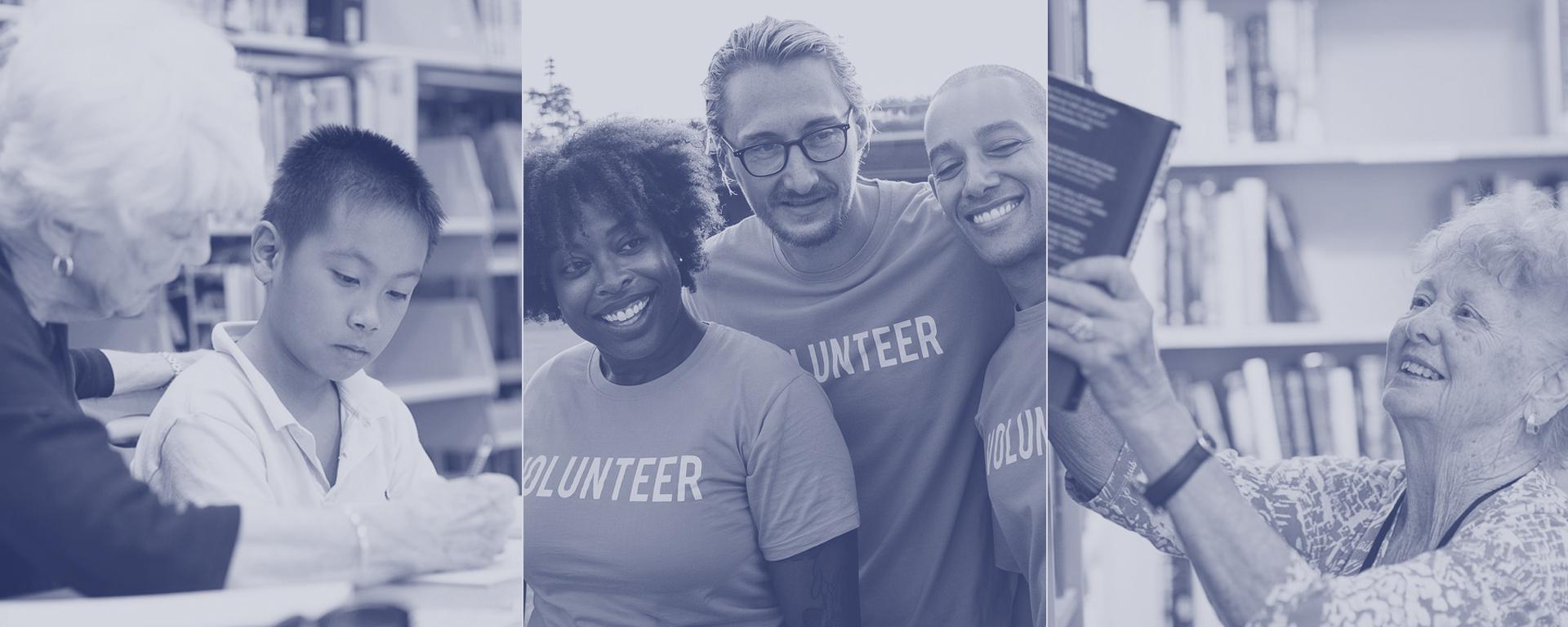 A group of volunteers