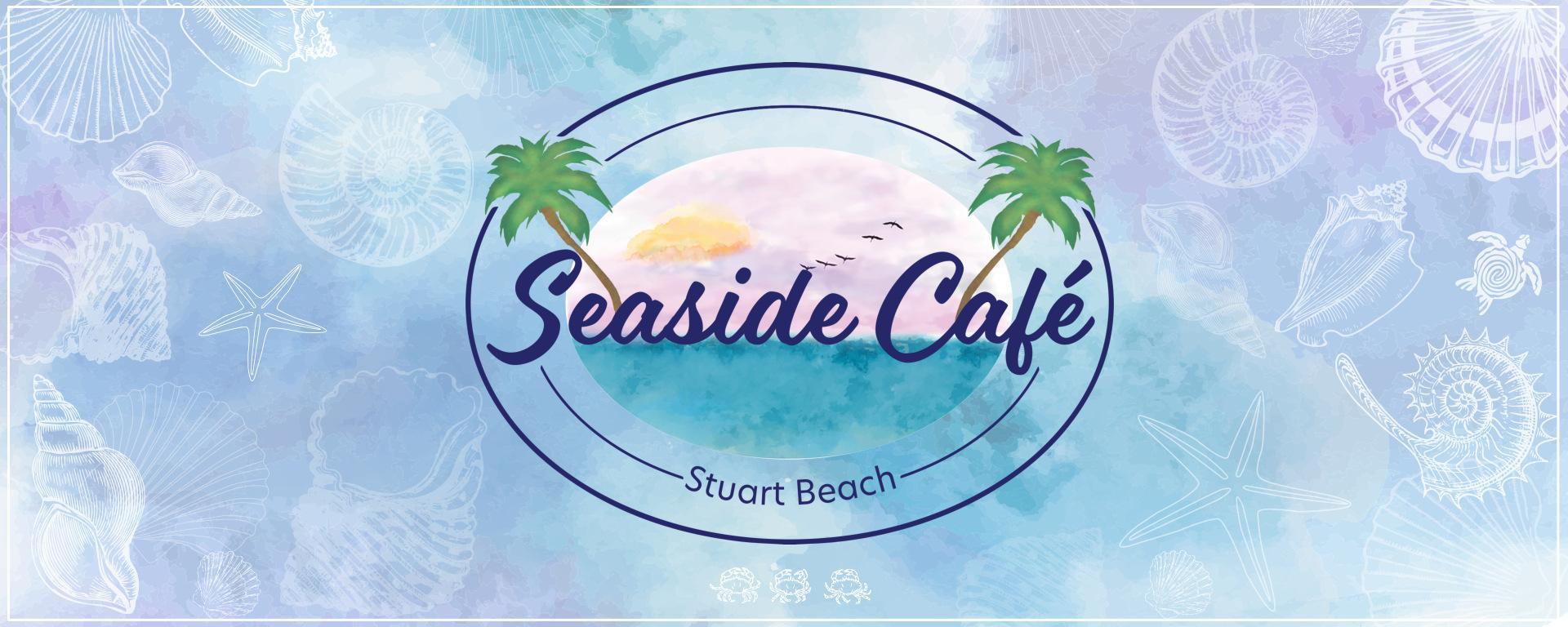 Seaside Cafe and logo