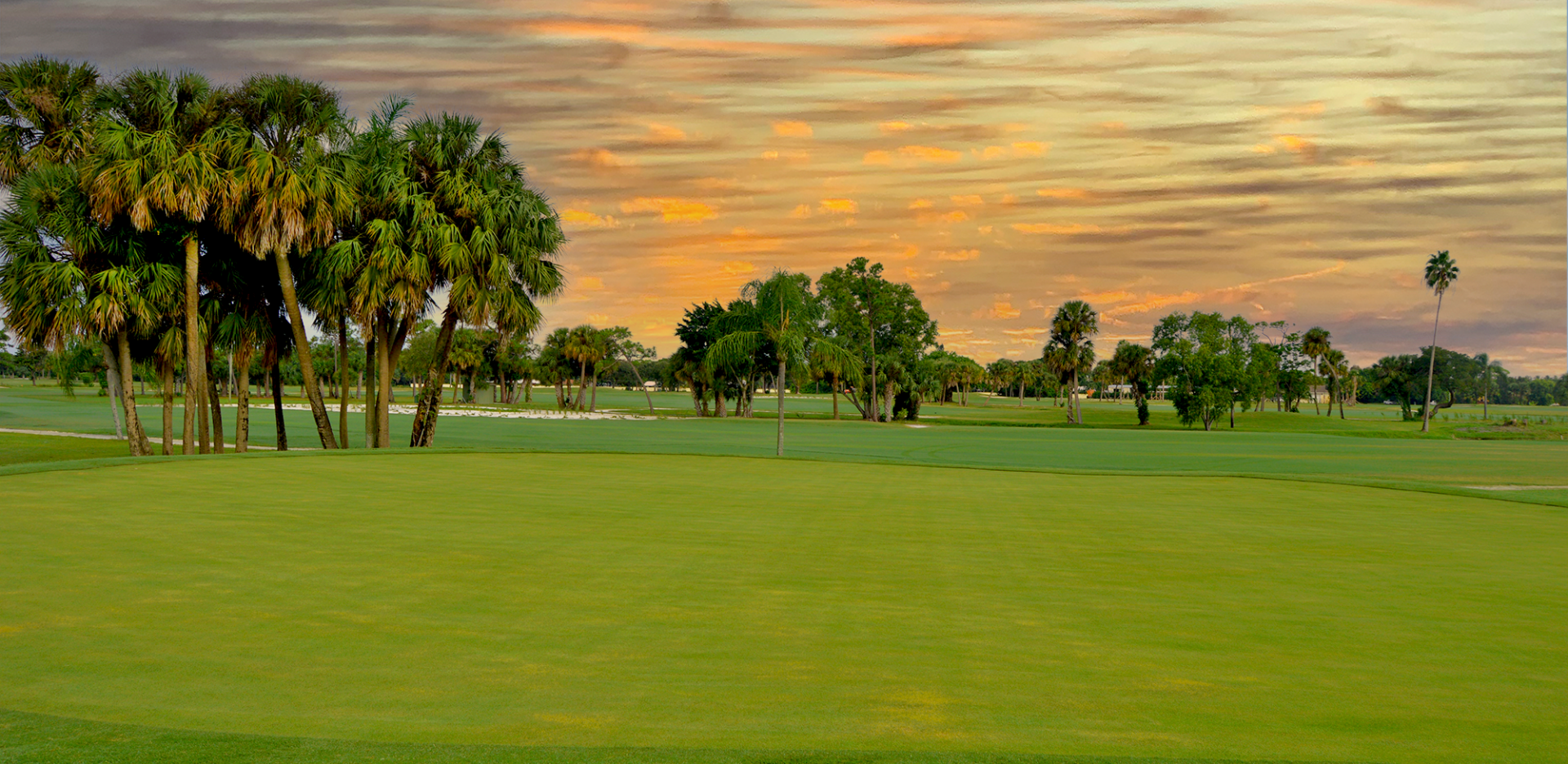 The course at Sailfish Sands Golf Course